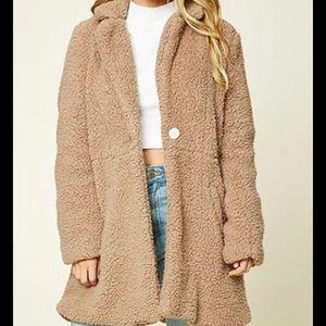 "Chic ""Teddy Bear"" Coat - Size: Large"